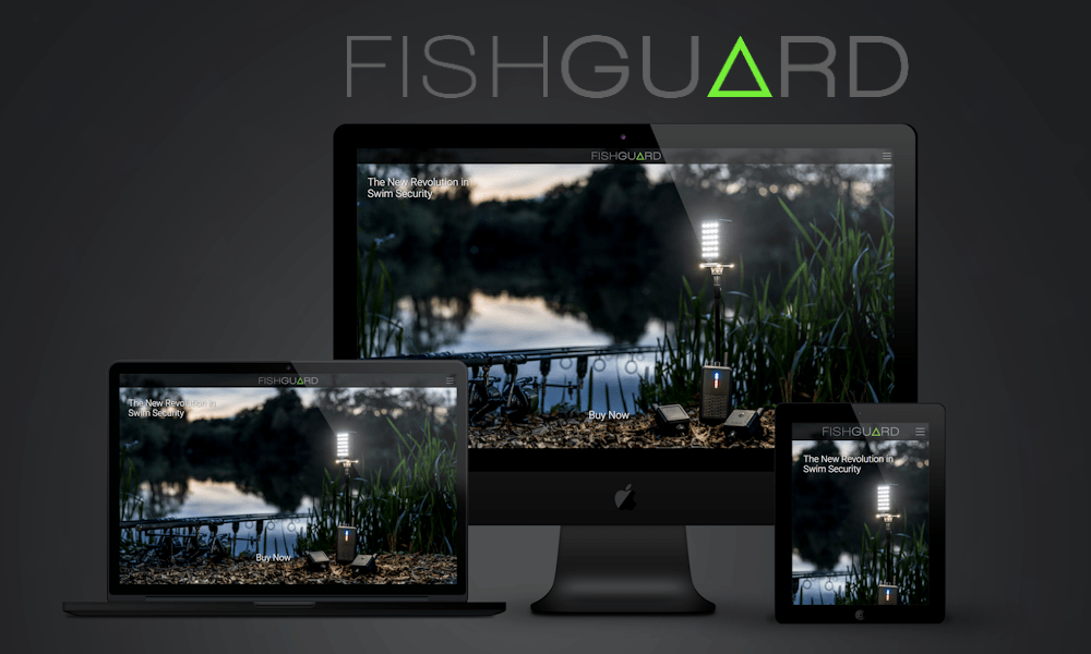 image of freelance web design project in bristol fishguard swim security