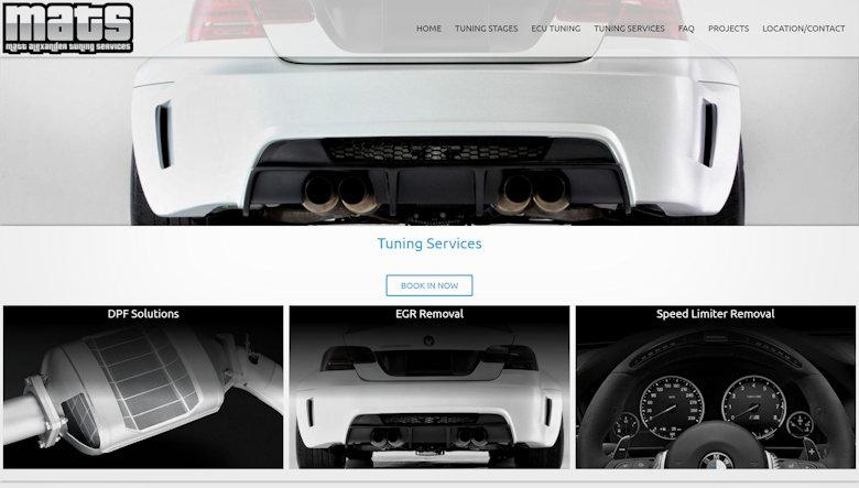 MATuning Services Website Design 5
