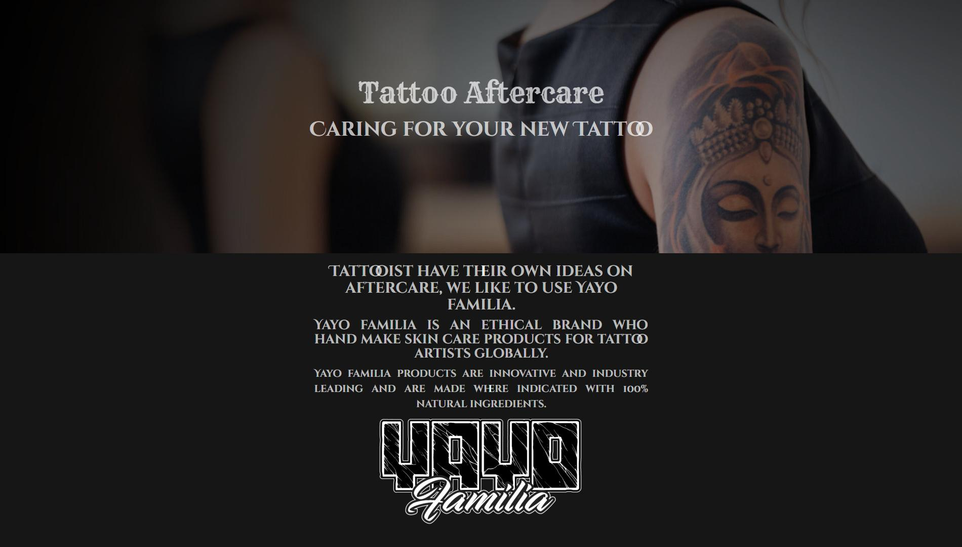 Behind the Gates Tattoo Website 3