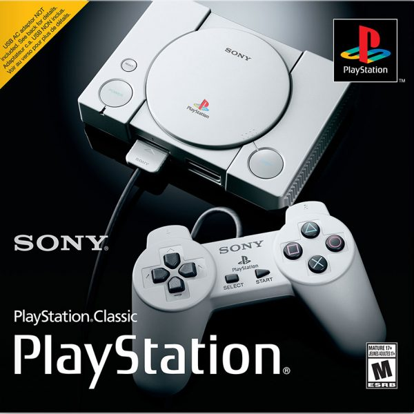 Sony PlayStation Classic 359 Extra Games 1