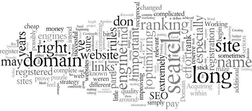 image of domain names