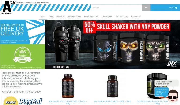 armoury-shop-ecommerce-website-design