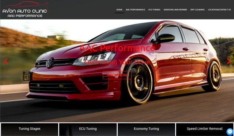 avon-auto-website-design