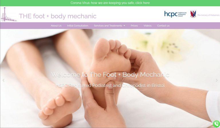foot-mechanic-website-design